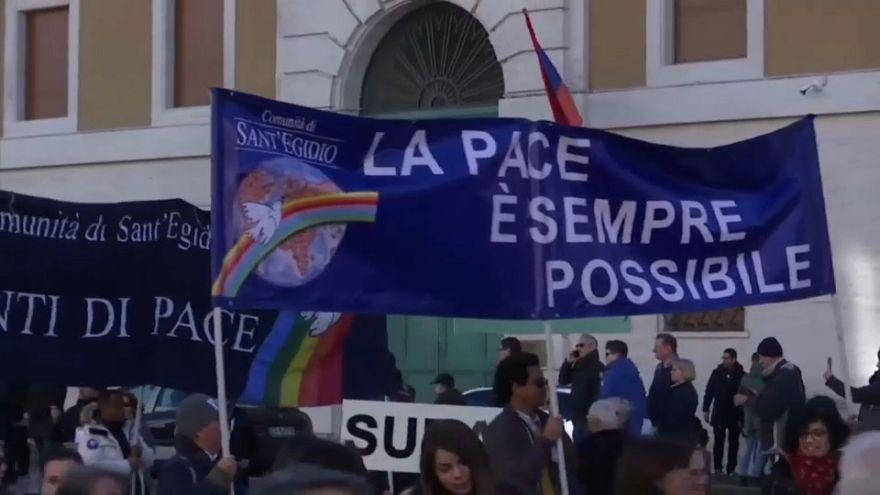 El Papa celebra el Día Mundial de la Paz y felicita el Año Nuevo a todo el mundo
