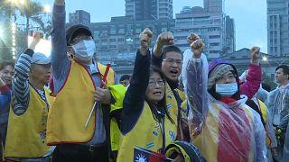 Les gilets jaunes s'exportent à Taïwan