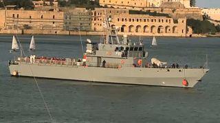 Мальта: мигранты в открытом море
