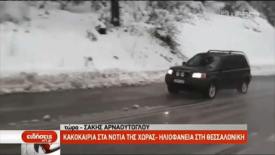 Schneealarm! Winter hat Griechenland im Griff