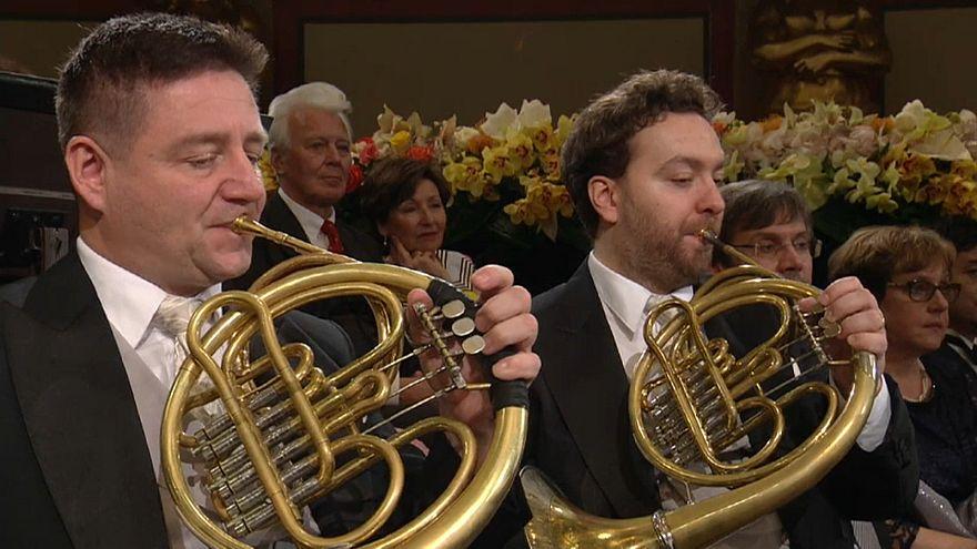 Video | Viyana Filarmoni Orkestrası'nın geleneksel yeni yıl konseri