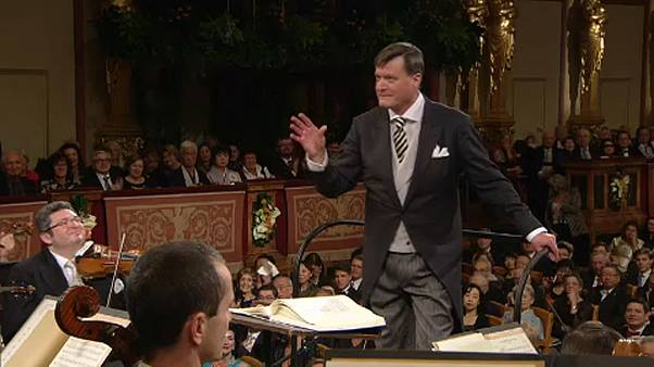 Tapsvihar a Bécsi Filharmonikusok újévi koncertjén