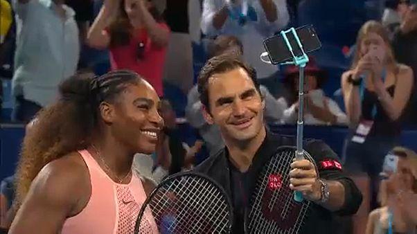 Serena Williams face à Roger Federer : un duel historique