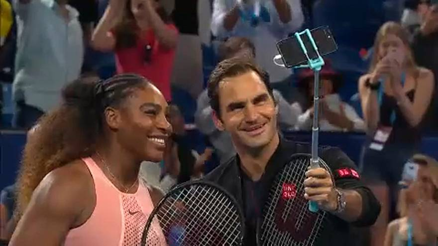 Serena Williams face à Roger Federer : un duel historique