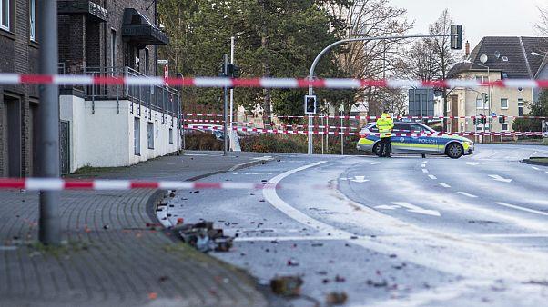 آلمان؛ فردی مهاجر ستیز شب سال نو با خودرو به عابران حمله کرد