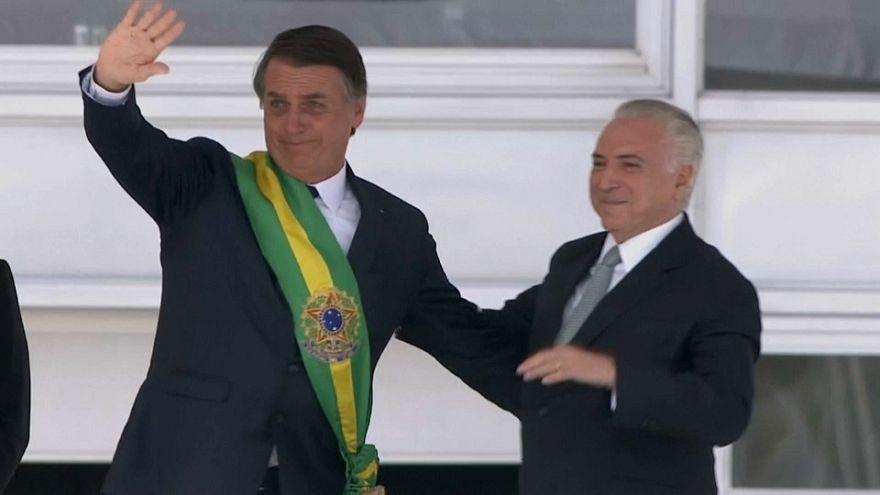 Brasile, si è insediato il nuovo presidente Jair Bolsonaro