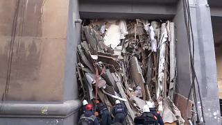 В Магнитогорске найден девятый погибший при обрушении подъезда дома