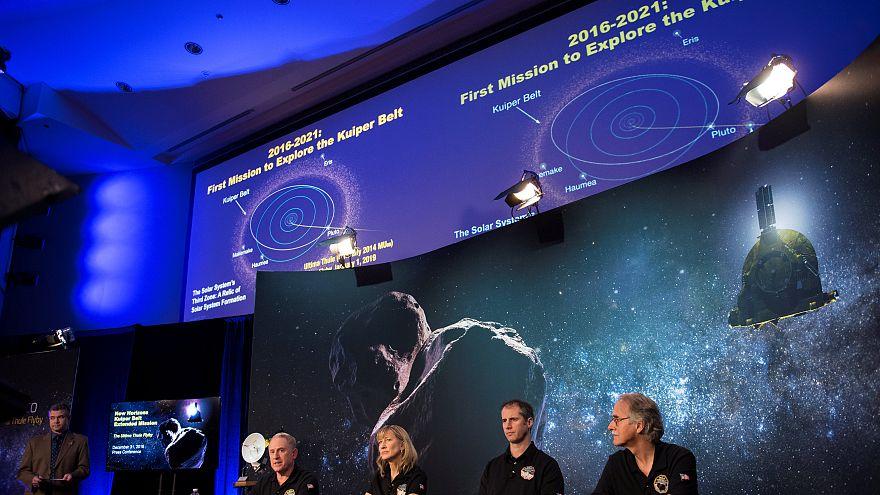 NASA-Sonde New Horizons schickt Fotos über 6.5 Mrd. Kilometer