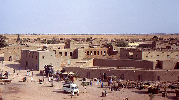 بلدة جنة في منطقة موبتي في مالي