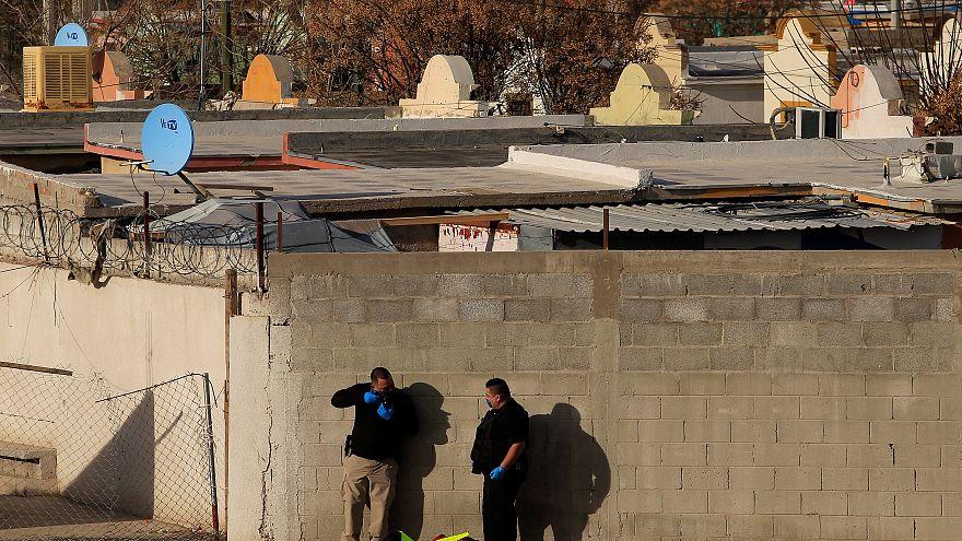 Imagen de archivo de una investigación forense en Ciudad Juárez