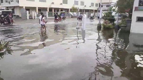 Filipinler'de tayfun