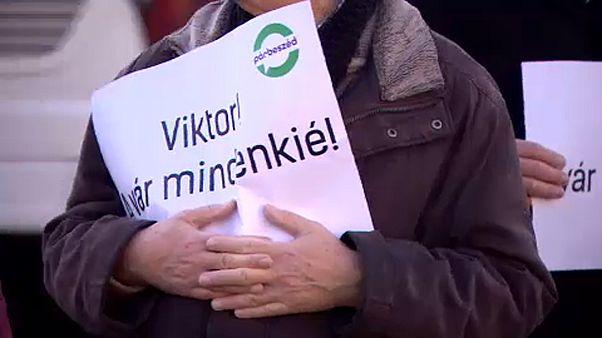 Orbán várba költözése ellen tiltakoztak