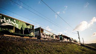 Acidente com um comboio na Great Belt