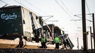 Al menos seis muertos en un accidente de tren en Dinamarca