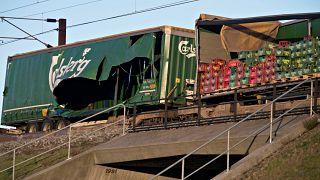 Железнодорожная катастрофа в Дании, есть погибшие