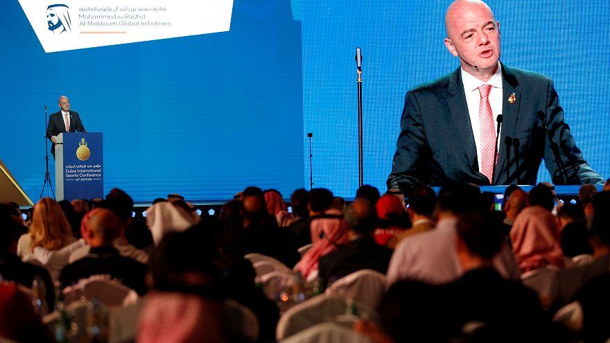 إنفانتينو: نبحث توسيع كأس العالم في قطر 2022 لتضم 48 منتخبا