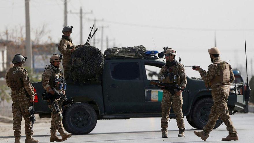 Afgan askerleri