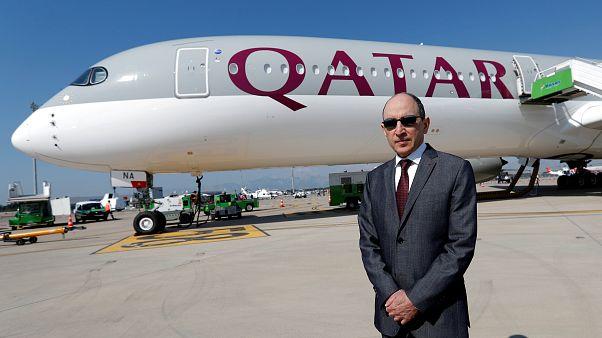أكبر الباكر الرئيس التنفيذي لمجموعة الخطوط الجوية القطرية