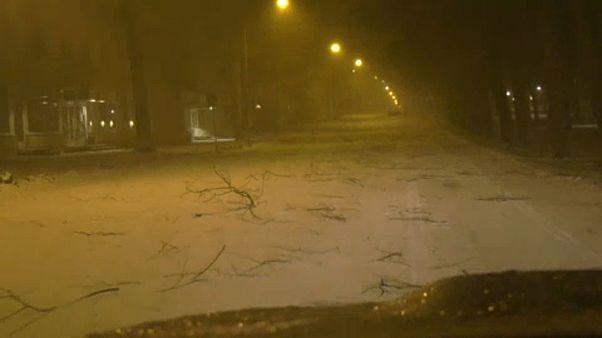 Rekorderejű vihar csapott le a Baltikumra