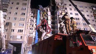 Ascienden a 22 los muertos en el derrumbe producido por una explosión de gas en los Urales rusos