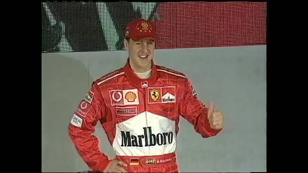 Formula One racing legend Michael Schumacher