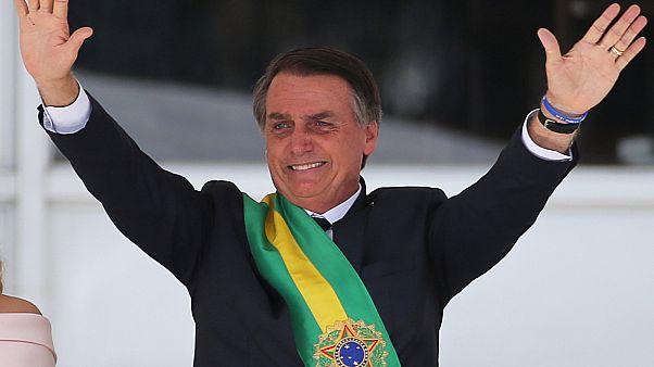 'Brezilya'yı sosyalizmden kurtarmaya gelen' devlet başkanı Bolsorano'dan ilk icraatlar