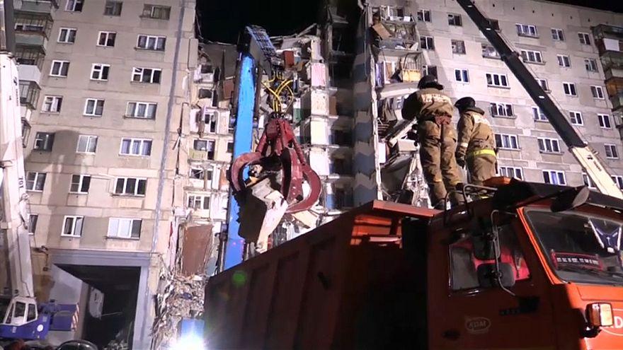 Balanço de derrocada eleva-se a 22 mortos