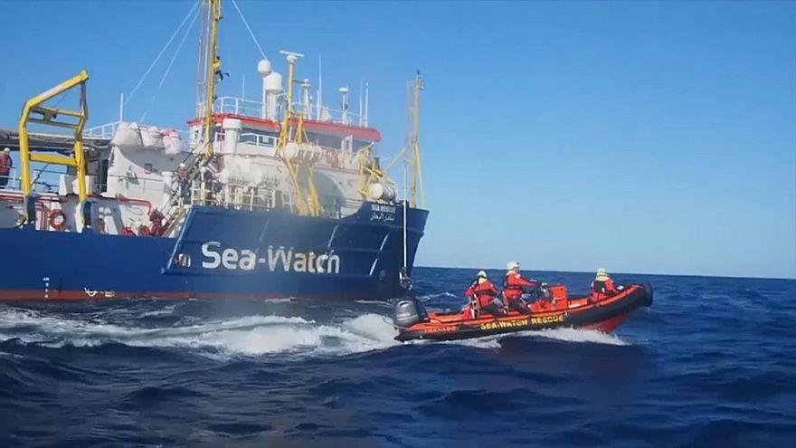 Un abri temporaire pour le Sea-Watch