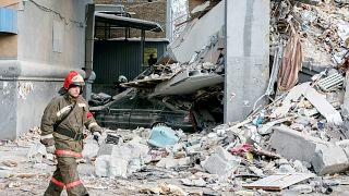 Rusya'da bina faciası: Ölenlerin sayısı 37'ye çıktı