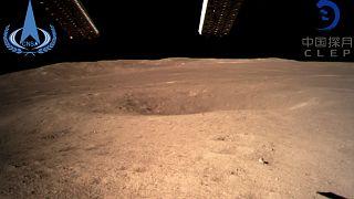 بالصور: الصين أول من ينزل مسبارا على الجانب المخفي من القمر