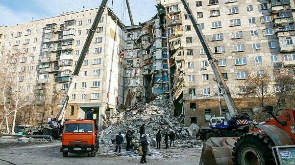 شمار قربانیان ریزش ساختمان در روسیه به ۳۷ نفر رسید