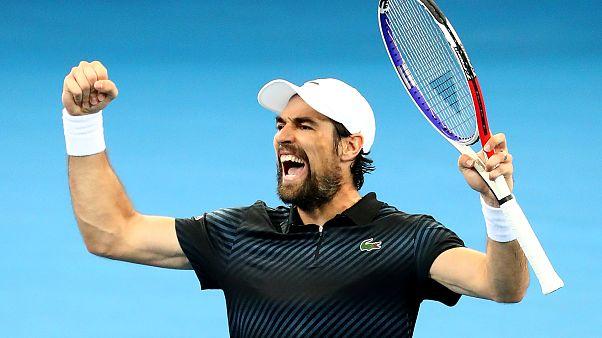 Tennis : Chardy en demi-finales à Brisbane