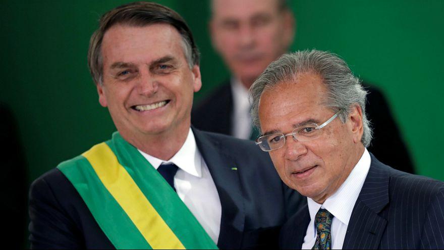 Jair Bolsonaro e Paulo Guedes caíram nas boas graças dos investidores