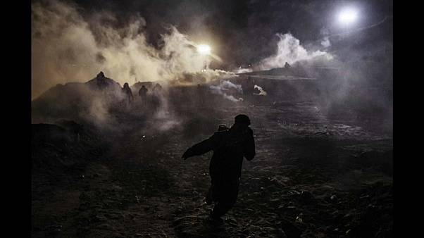 Gases lacrimógenos y pimienta, la polémica de Año Nuevo en Tijuana