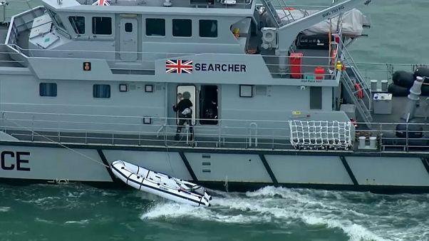 La Royal Navy face aux migrants?