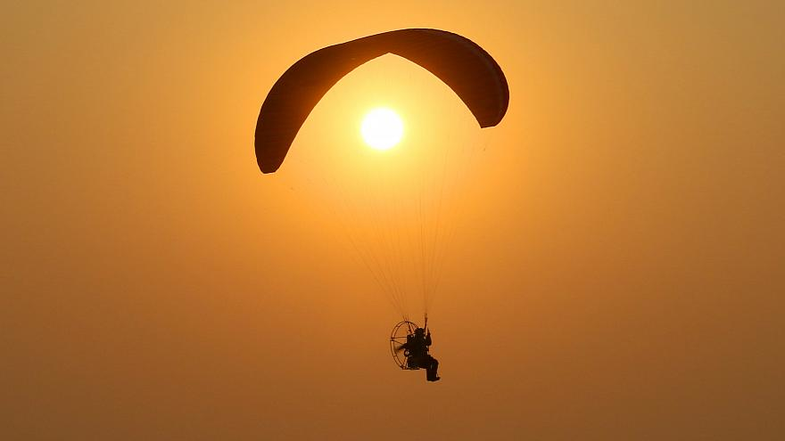 Dust devil takes New South Wales paraglider for a terrifying ride