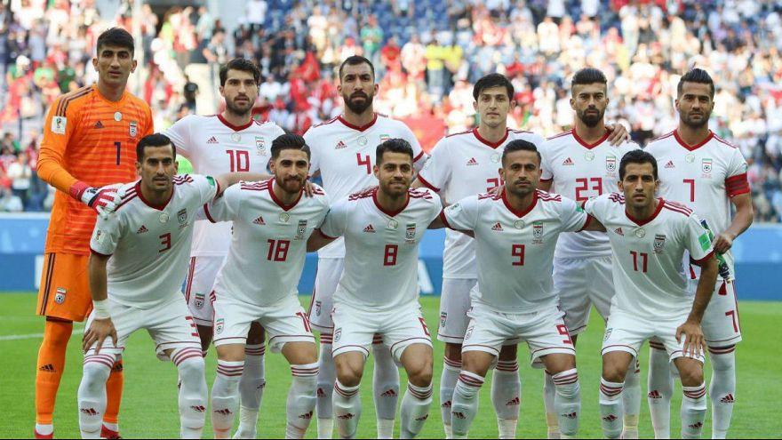 تیم ملی ایران در بازی با مراکش در جام جهانی روسیه