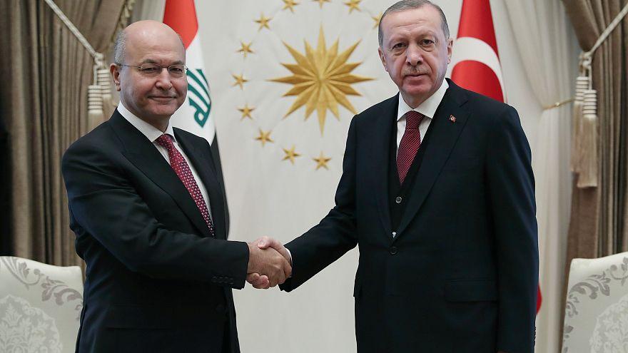 Erdoğan: Siyasetimiz Irak'ın toprak bütünlüğünün korunmasından yana