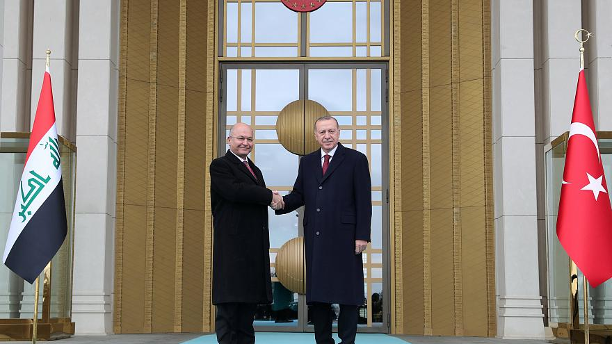 إردوغان يريد تعزيز التعاون التركي-العراقي في مكافحة الإرهاب