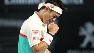 Nishikori elimina a Dimitrov y accede a las semifinales de Brisbane
