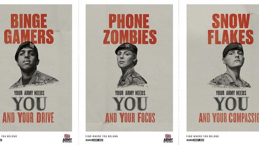 El Ejército británico quiere entre sus filas 'copos de nieve, adictos al selfie y gamers'