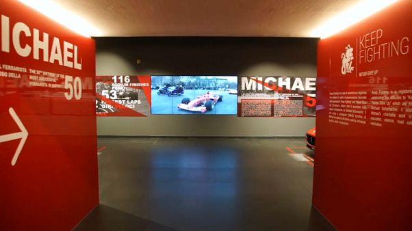 A Maranello l'omaggio a Michael Schumacher