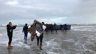 Veszélyes anyaggal teli tartályok kerültek az Északi-tengerbe