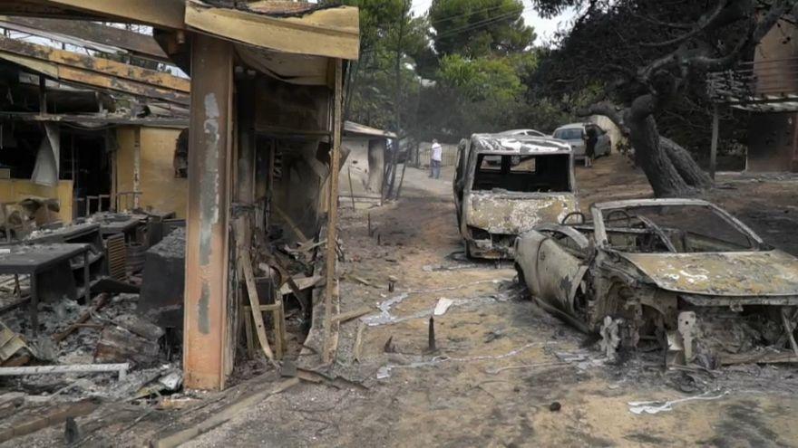 Erste Klagen nach Waldbränden in Griechenland