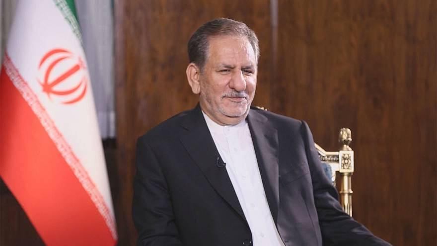 Can EU make decisions independently of US, asks Iran's vice president Jahangiri