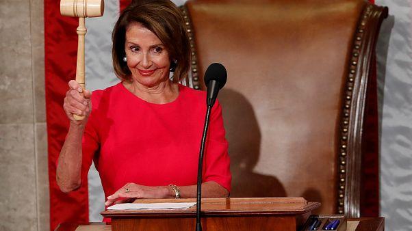 Nancy Pelosi vuelve a liderar la Cámara de Representantes de EEUU
