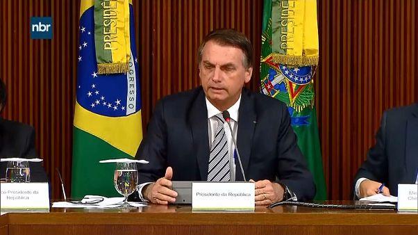 الرئيس البرازيلي يعلن أن الشعب الإسرائيلي هو من يحدد ما هي عاصمة إسرائيل