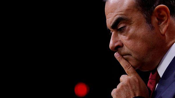 Yolsuzlukla suçlanan Carlos Ghosn Japonya'da hakim karşısına çıkıyor