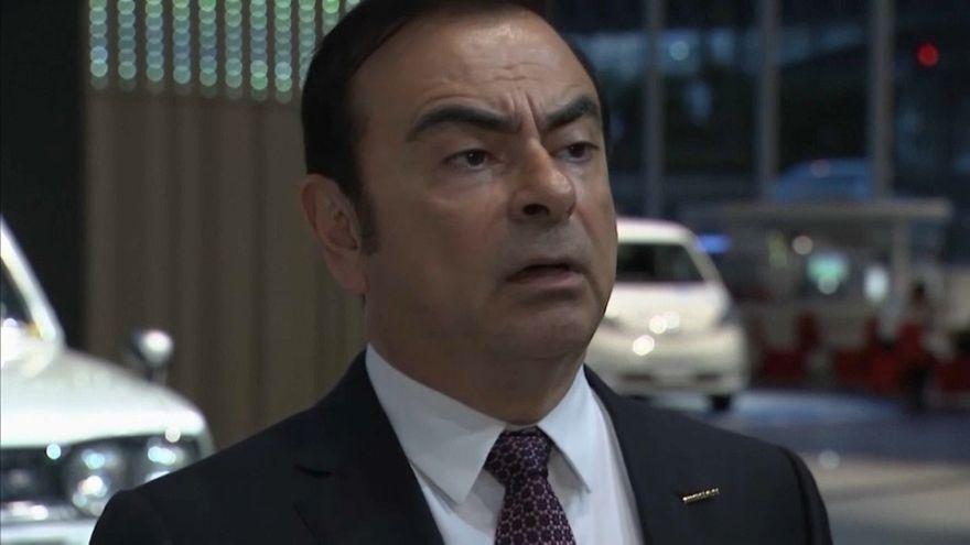 Carlos Ghosn comparece el martes ante un tribunal de Tokio para aclarar su arrresto