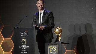 Роналду вновь объявили лучшим футболистом